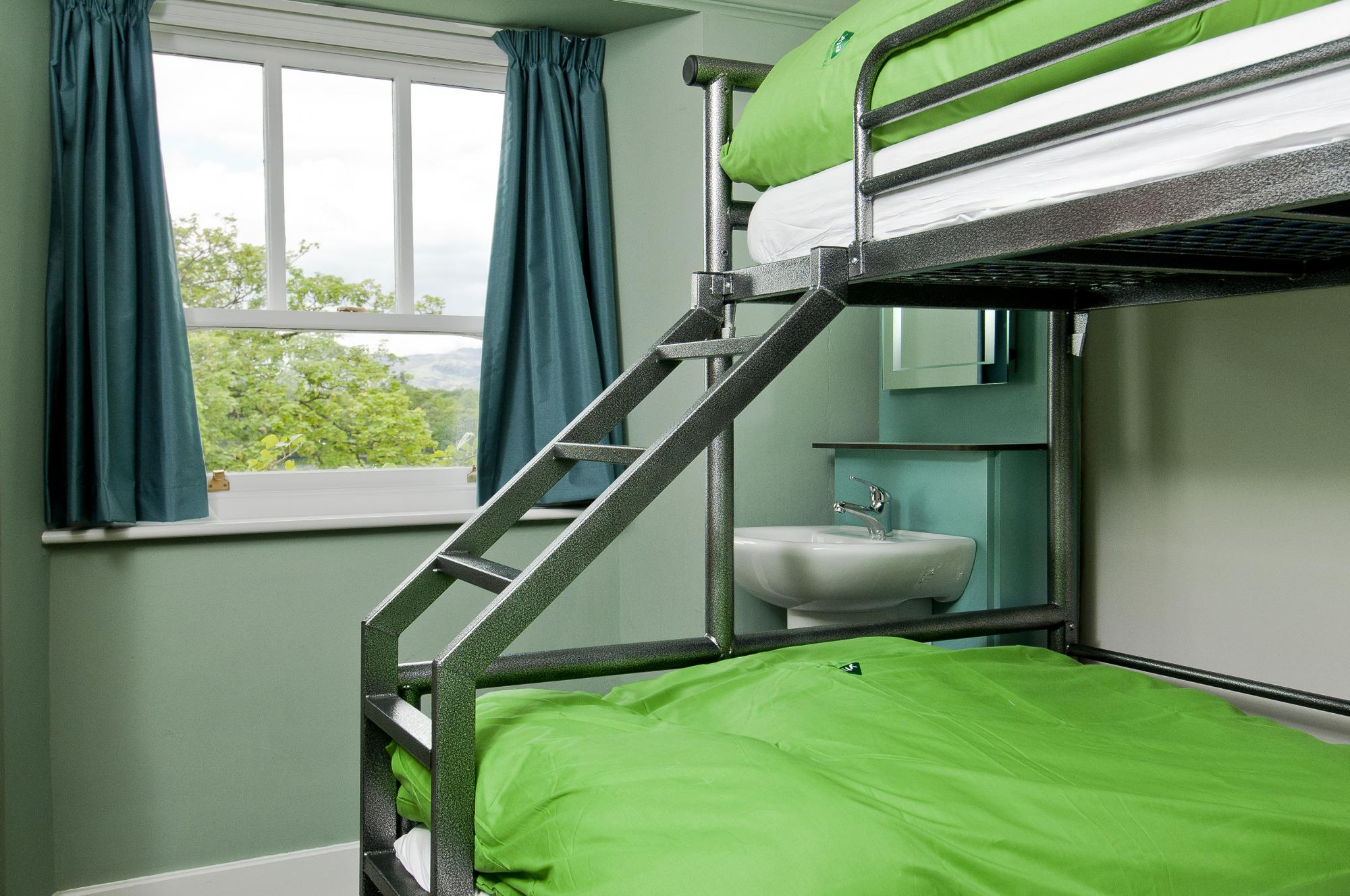 YHA Ambleside Bedroom