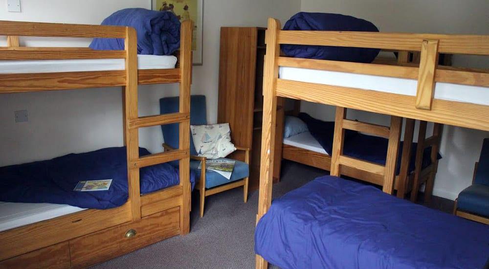 YHA Scarborough Bedroom