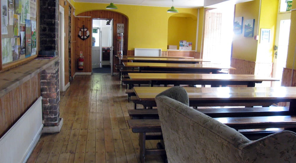 YHA Scarborough Dining Room