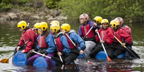 Rafting with YHA