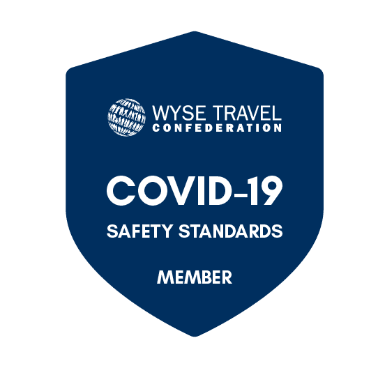 WYSE Travel COVID-19 badge