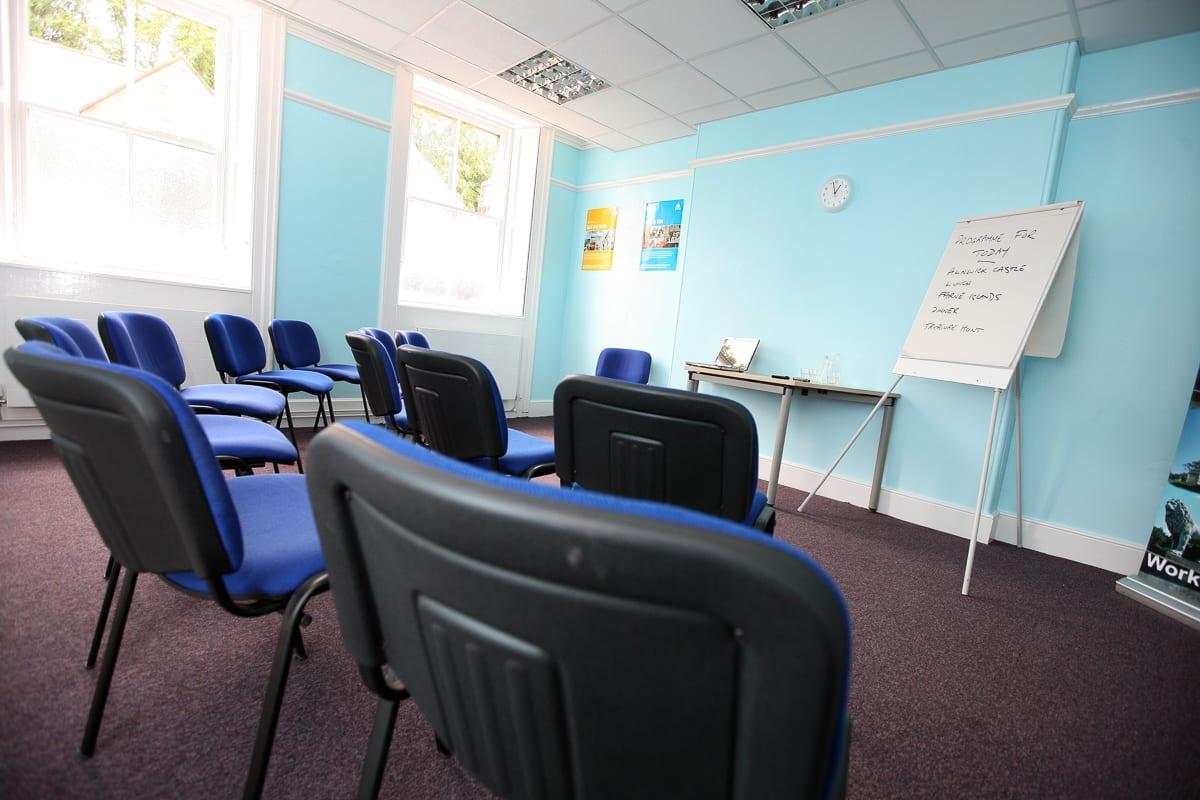 YHA Alnwick Classroom