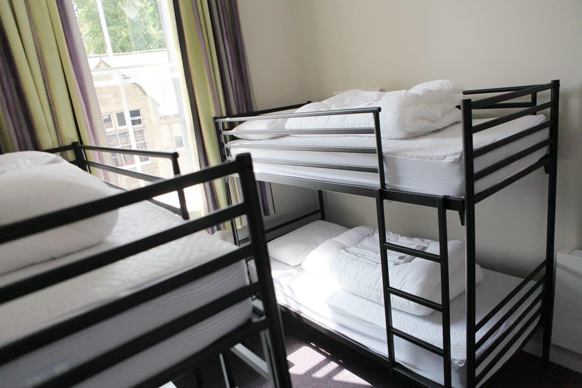 YHA Alnwick Bedroom