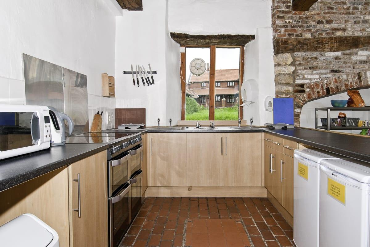 YHA Beverley Friary Kitchen