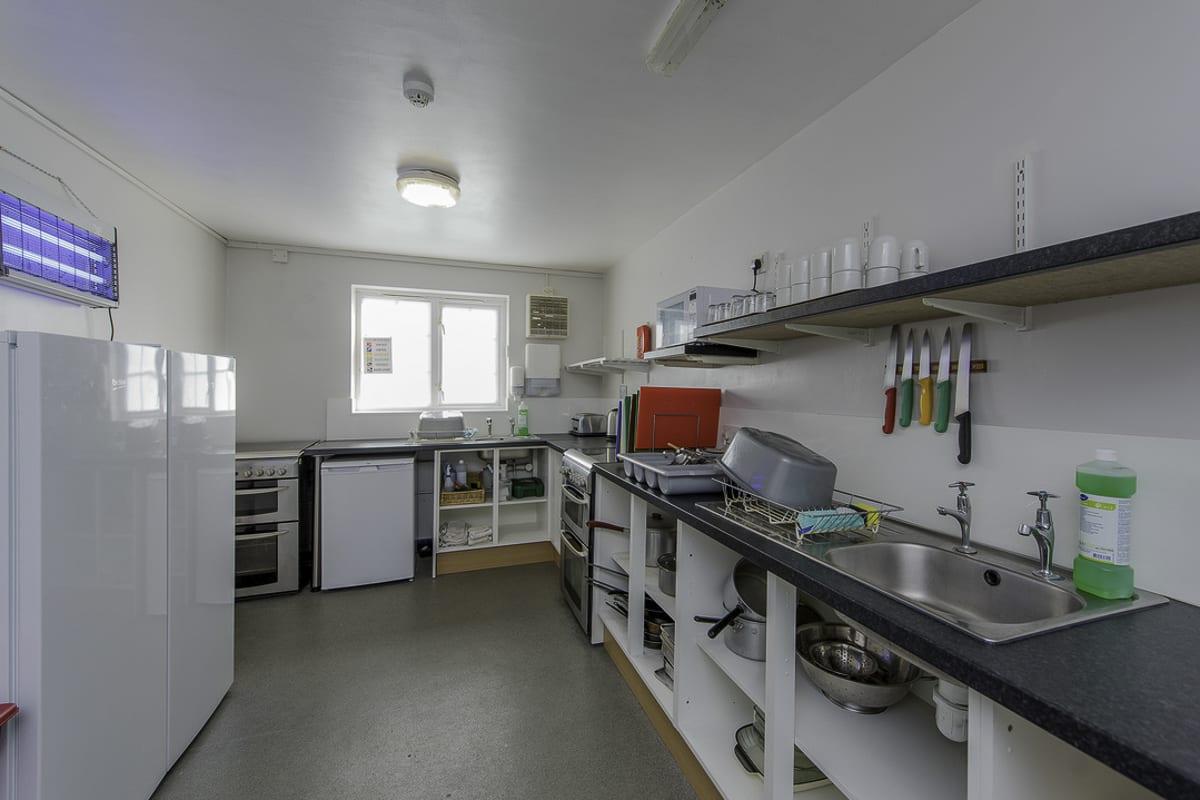 YHA Blaxhall Kitchen