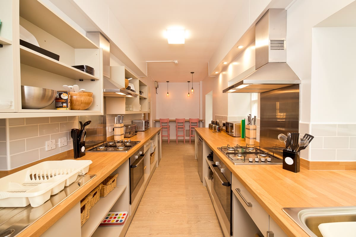 YHA Boggle Hole Self-catering Kitchen