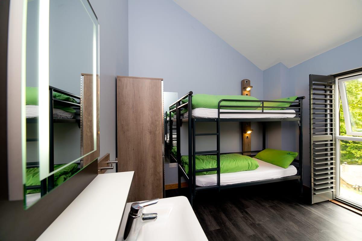 YHA Boggle Hole Dorm Room