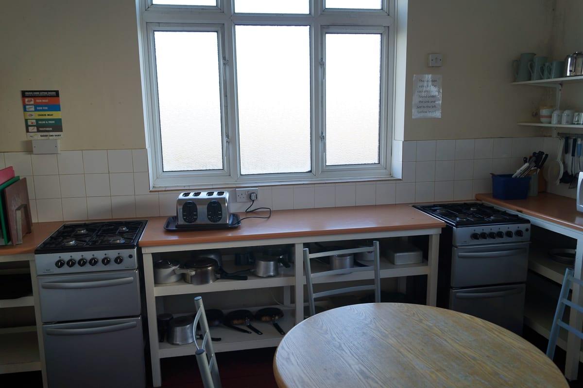 YHA Borth Kitchen