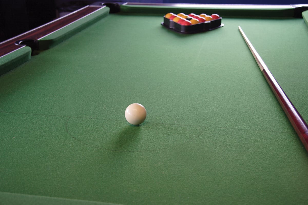 YHA Borth Pool Table