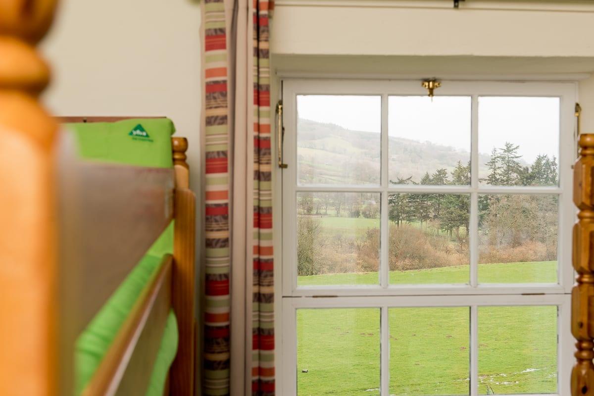 YHA Brecon Beacons Danywenallt Bedroom View