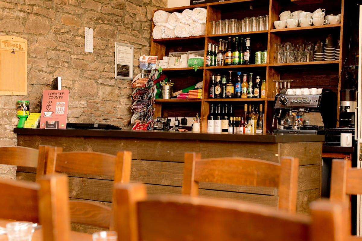YHA Brecon Beacons Danywenallt Bar
