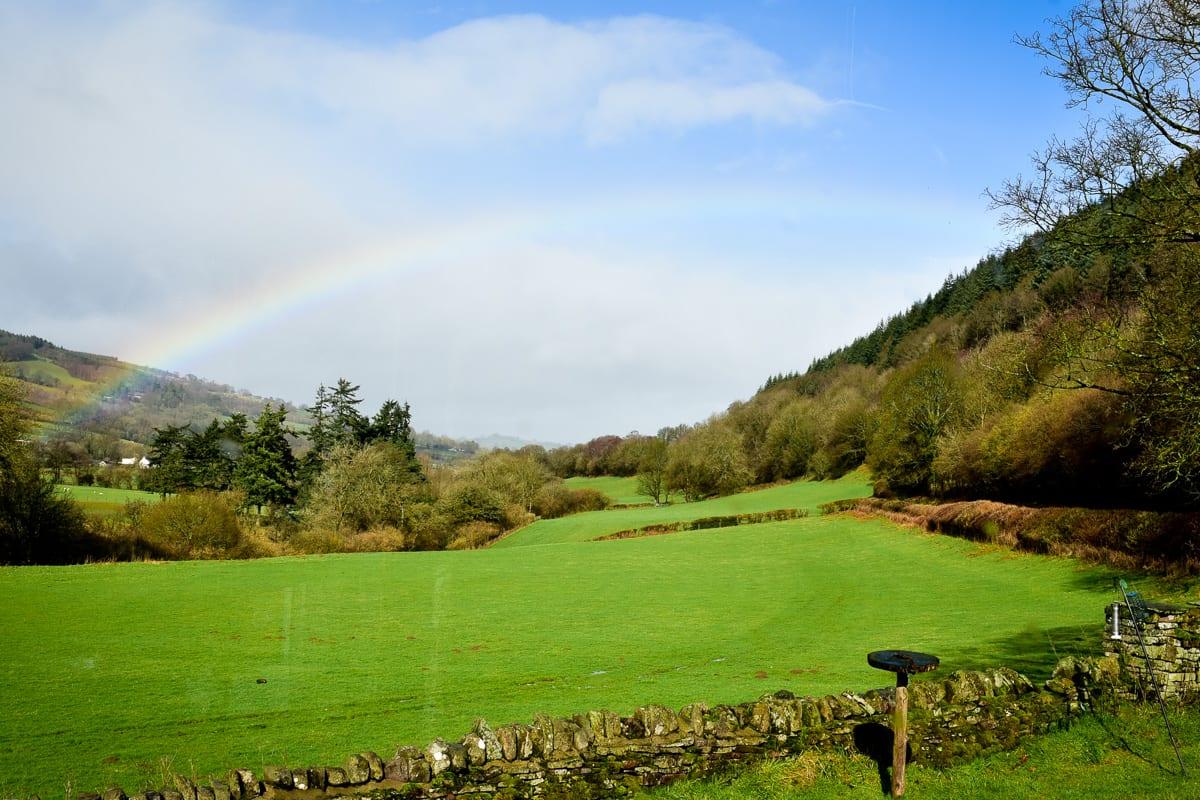 YHA Brecon Beacons Danywenallt Landscape