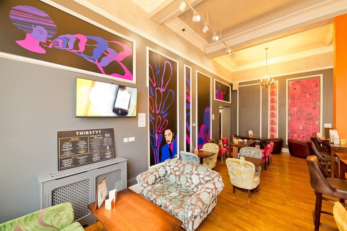 YHA Brighton Lounge