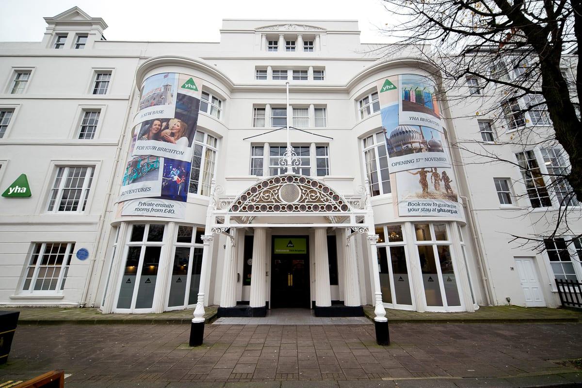 YHA Brighton Entrance