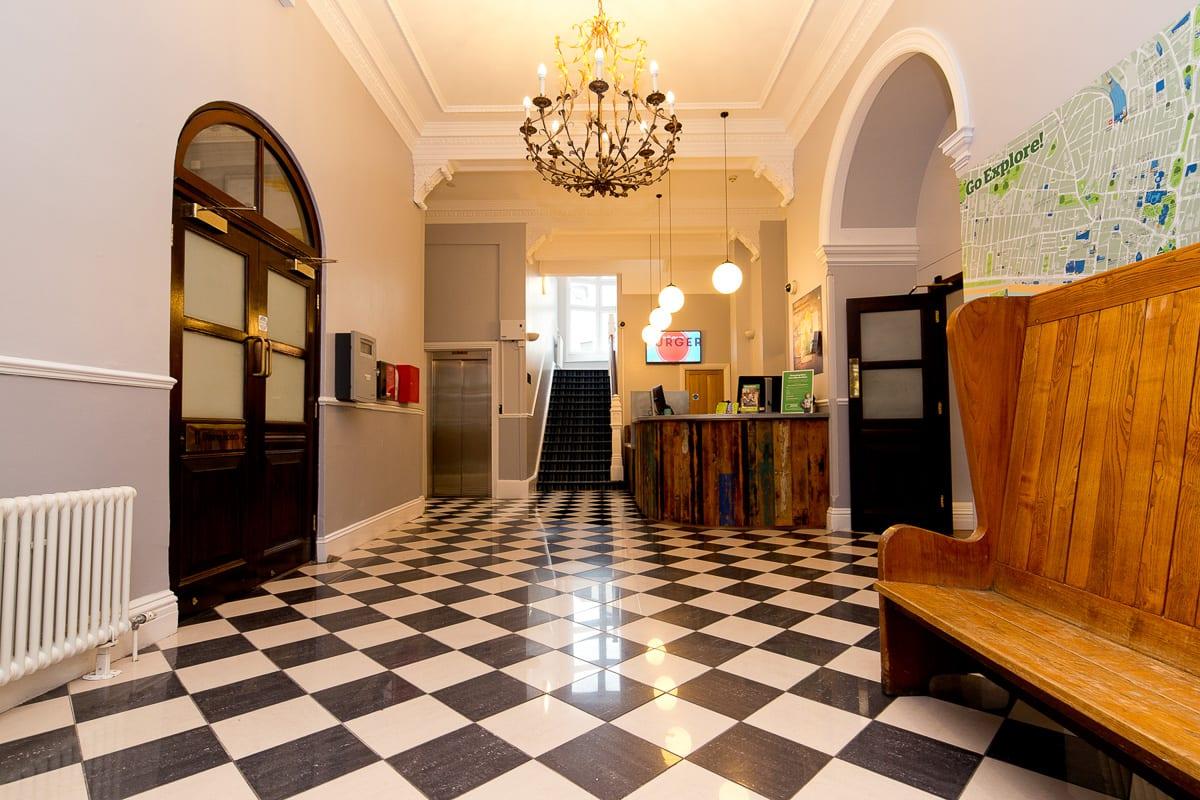 YHA Brighton Hallway