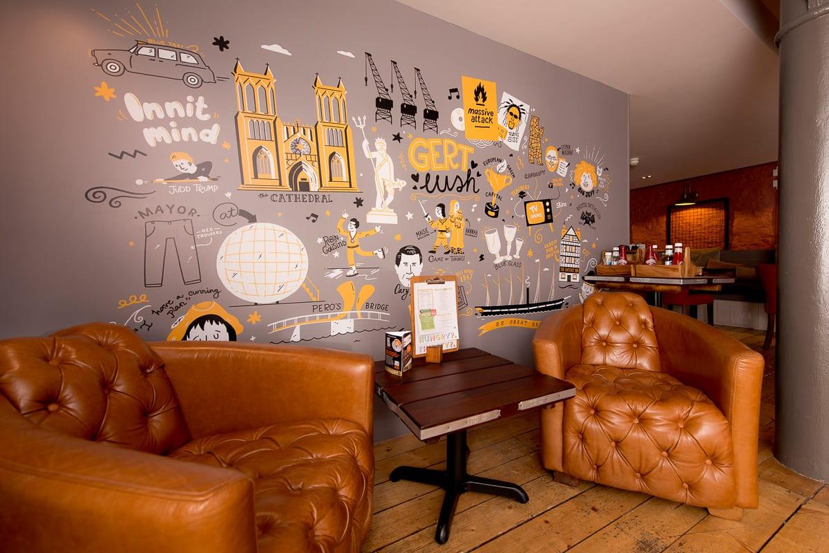 YHA Bristol Bar Mezzanine