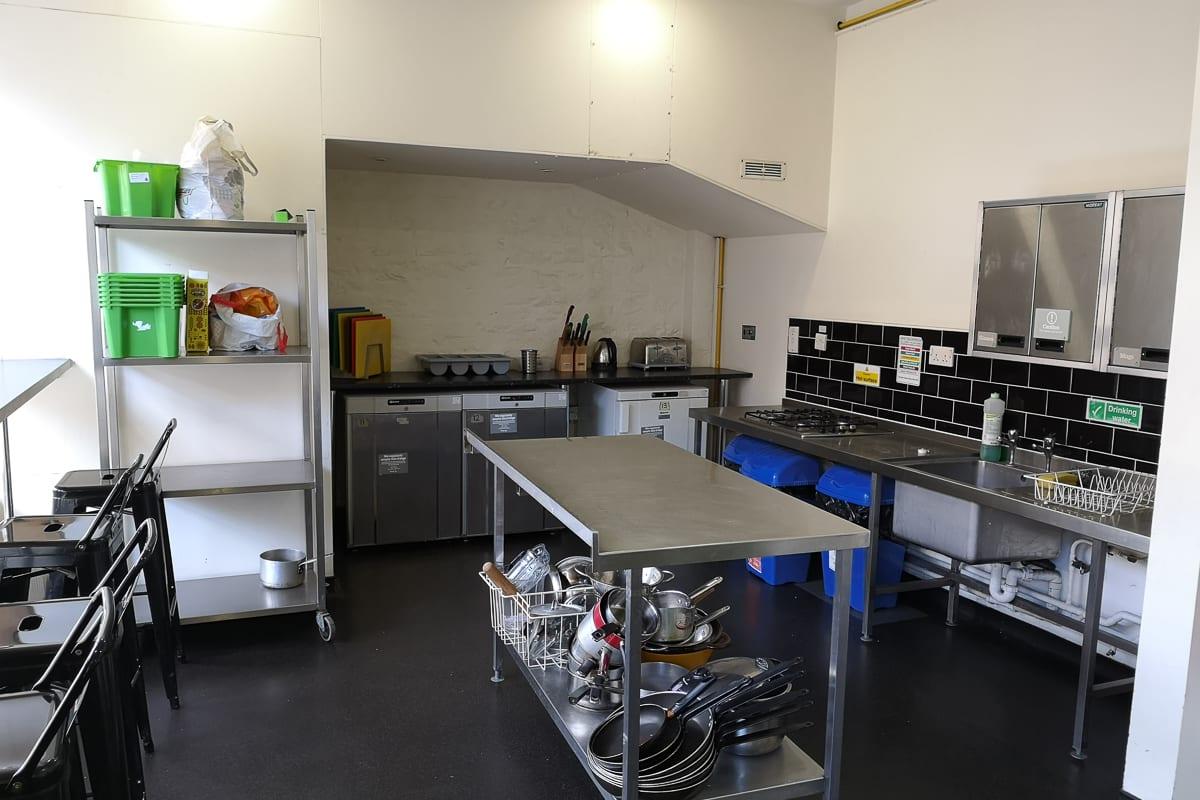 YHA Bristol Self-catering Kitchen