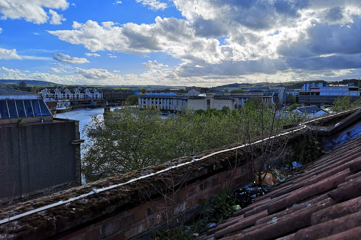 View from YHA Bristol