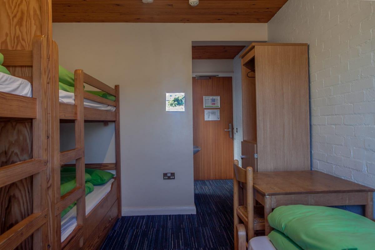 YHA Broad Haven Dorm Room