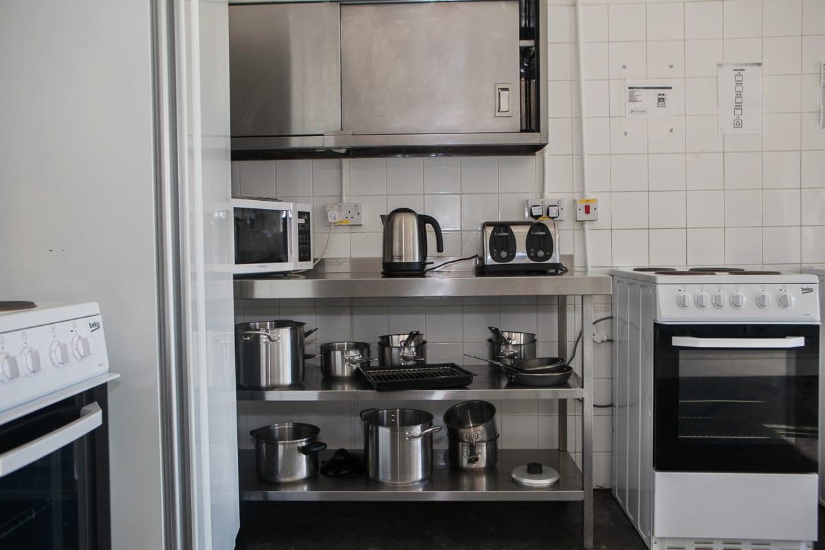 YHA Broad Haven Kitchen