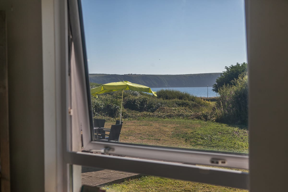 View from YHA Broad Haven