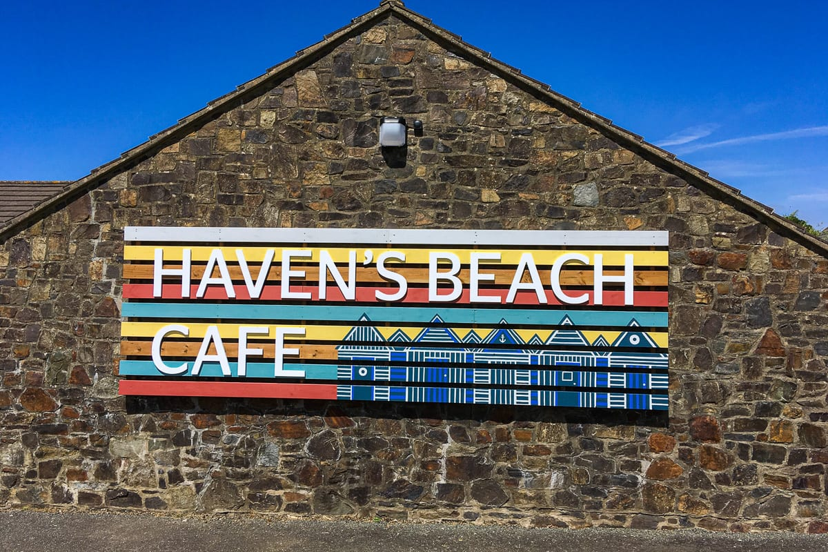 YHA Broad Haven Sign