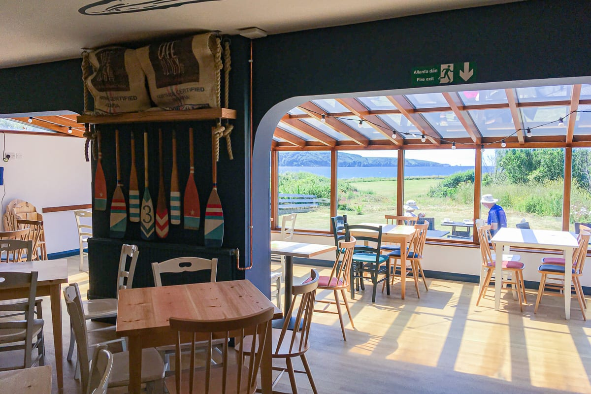 YHA Broad Haven Conservatory View