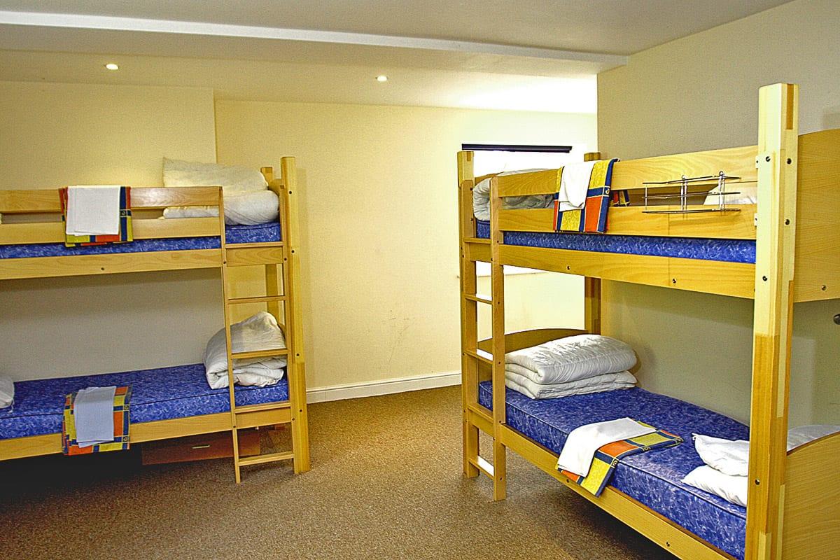 YHA Cholderton Bedroom