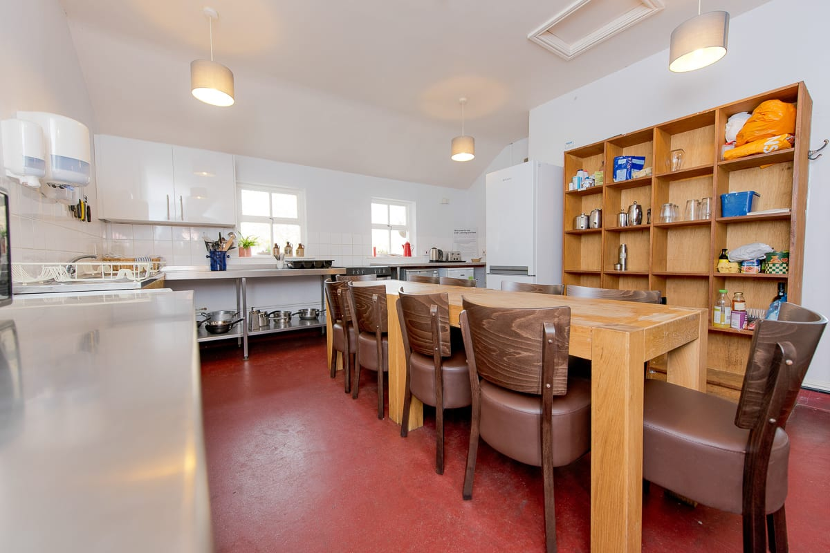 YHA Coniston Coppermines Self-catering Kitchen and Dining