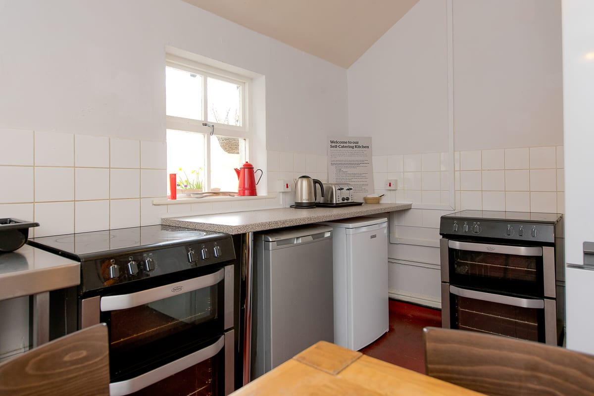 YHA Coniston Coppermines Self-catering Kitchen