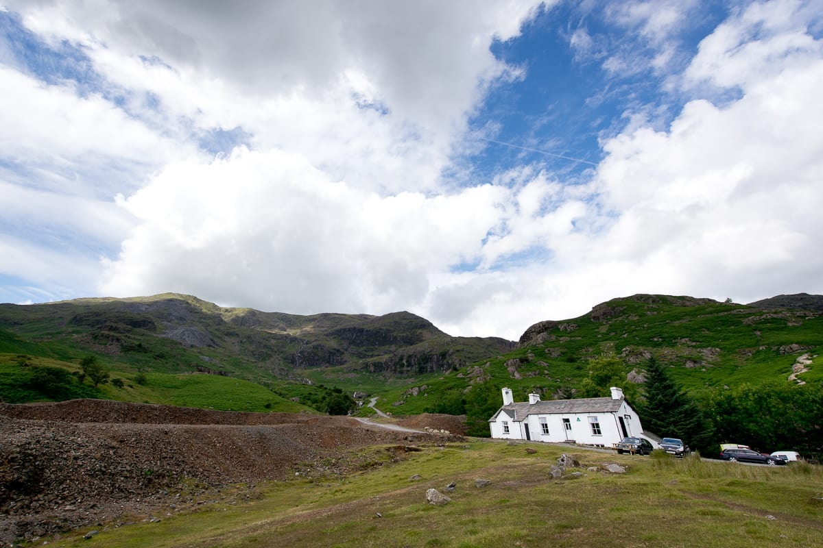 YHA Coniston Coppermines Mountain View