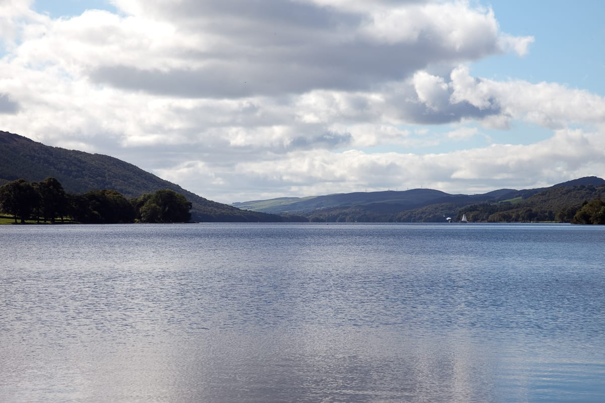 Lake view over Coniston