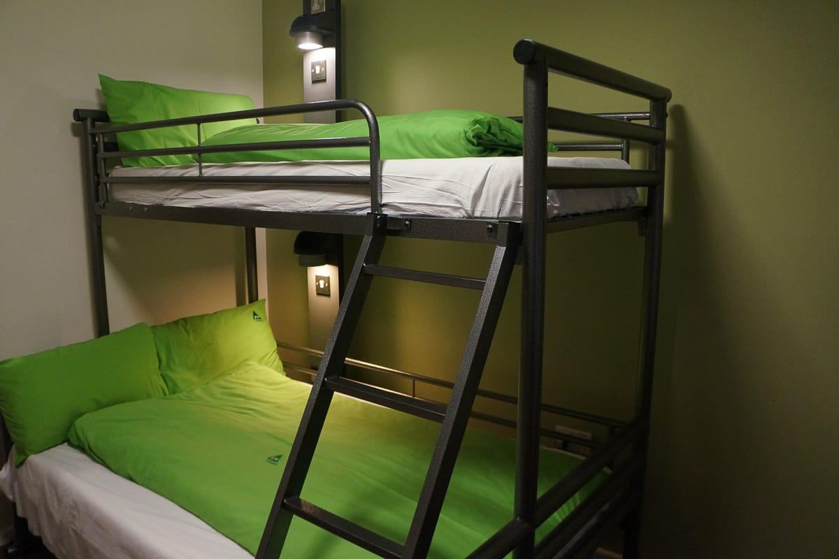 YHA Conwy Bedroom