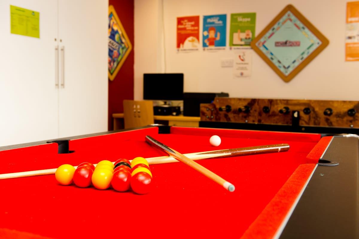 YHA Conwy games room
