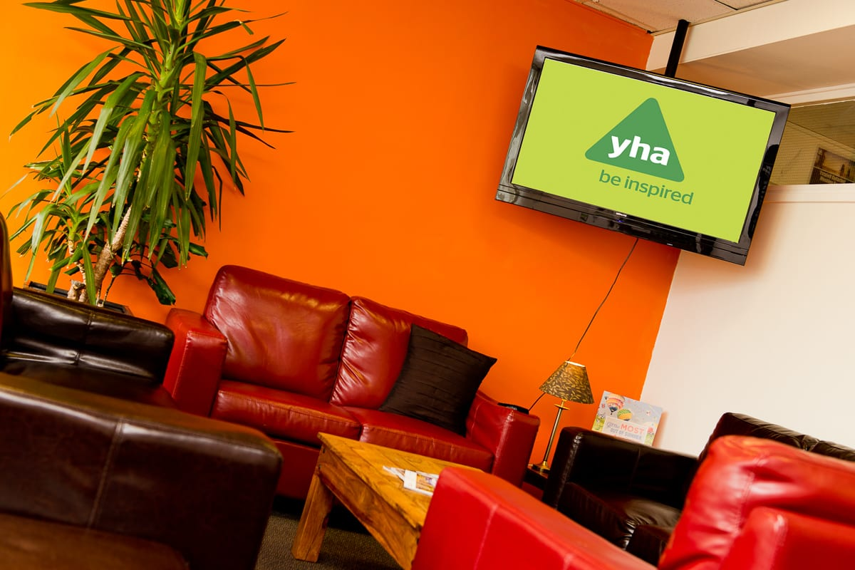 YHA Conwy Lounge