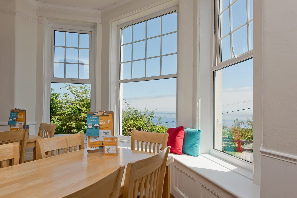 YHA Coverack Dining
