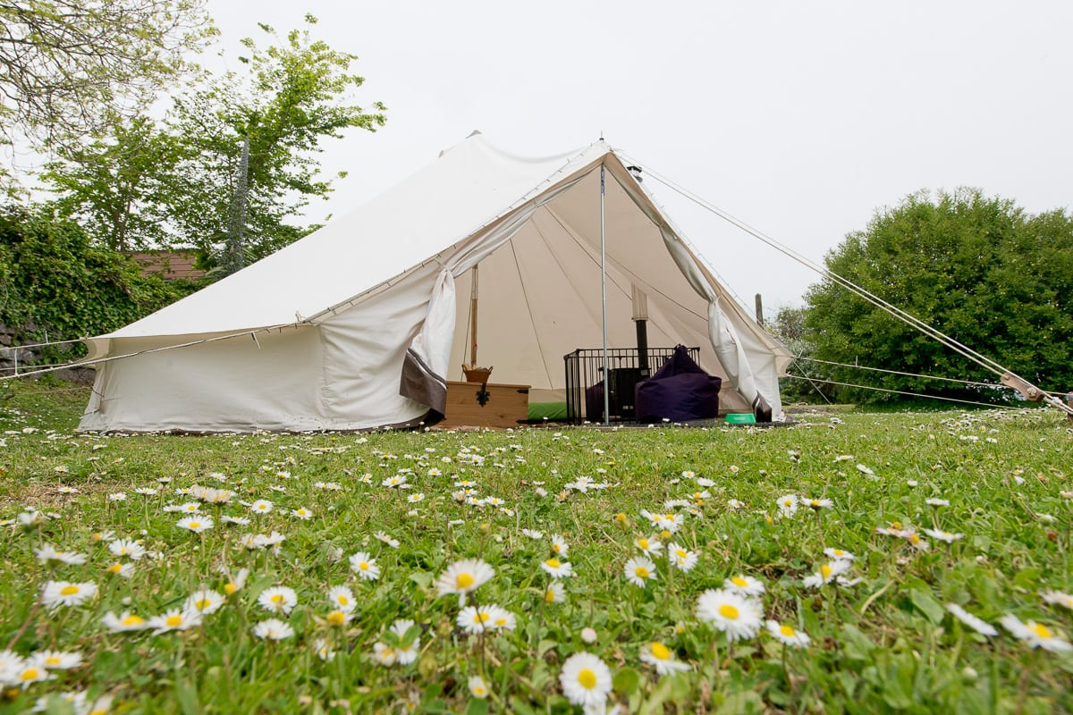 YHA Coverack Bell Tent