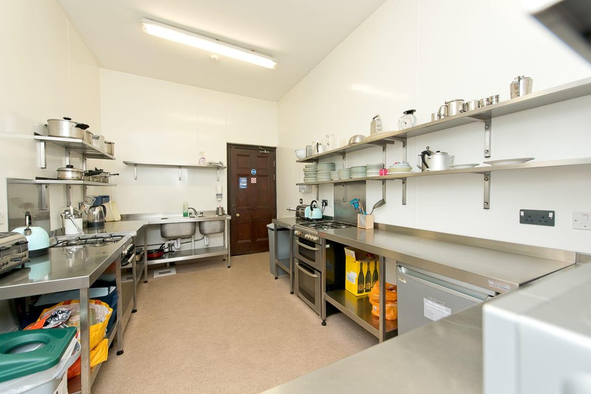 YHA Coverack Kitchen