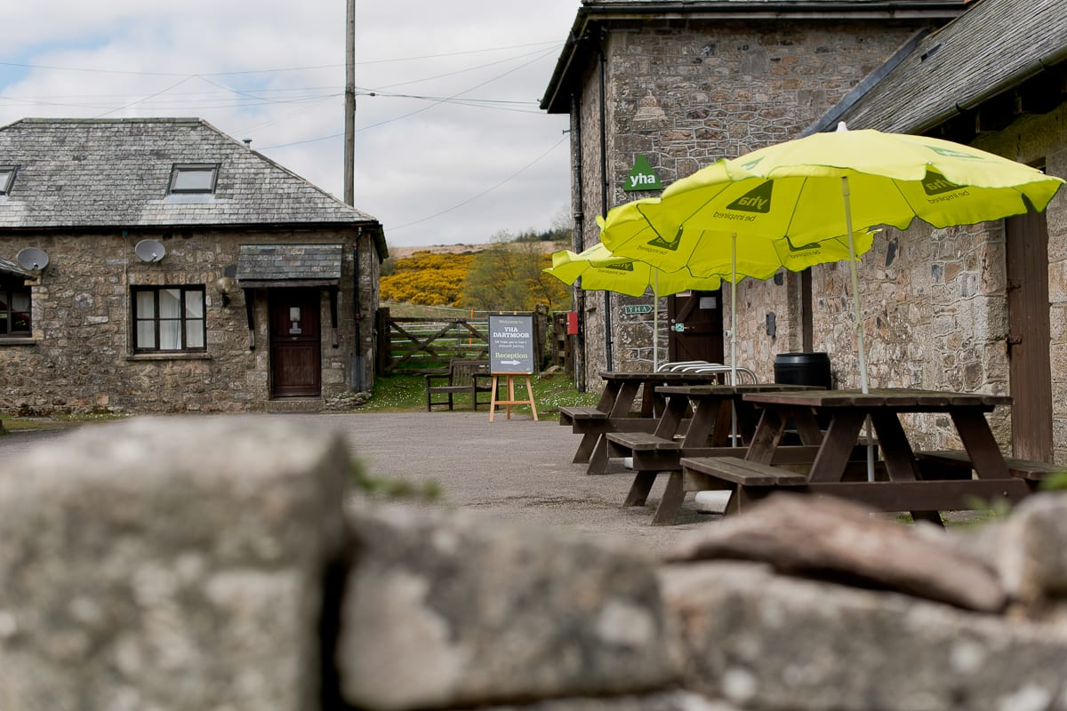 YHA Dartmoor - External Seating