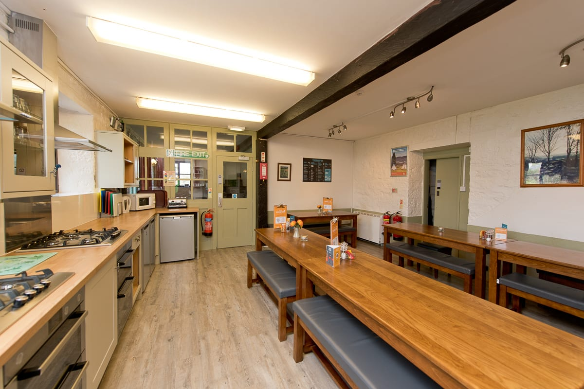YHA Dartmoor - Dining Room