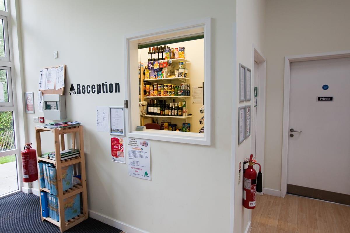 YHA Eastbourne Reception