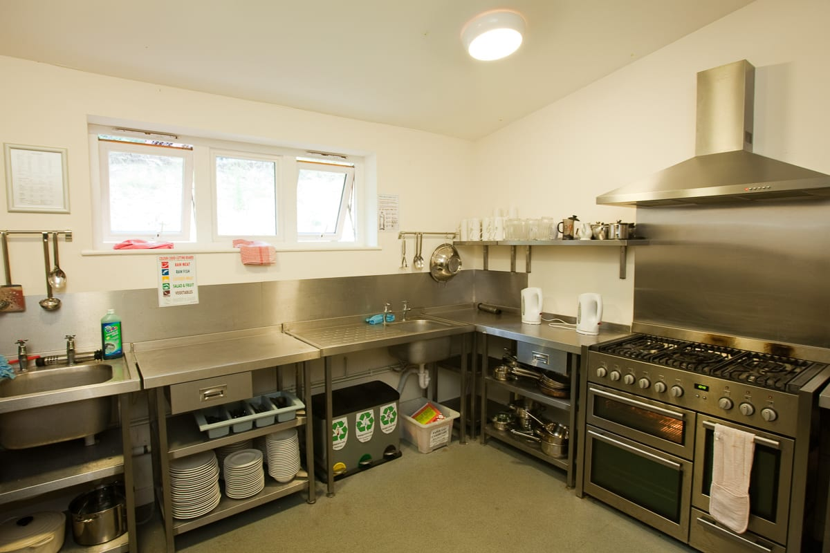 YHA Eastbourne Kitchen