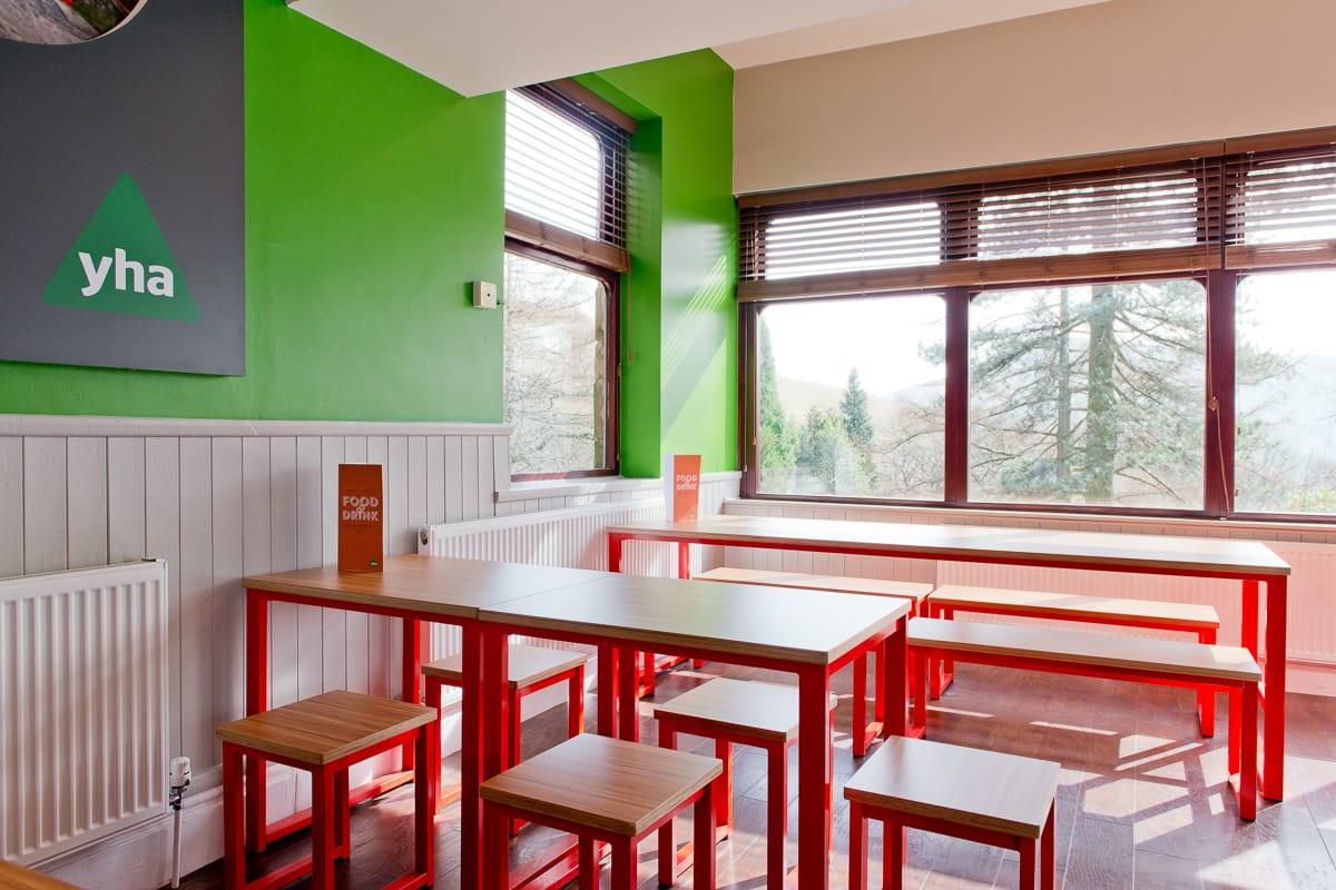 YHA Edale Dining Area