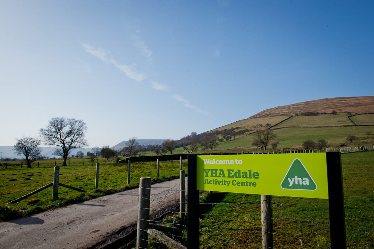 YHA Edale Welcome and Entrance