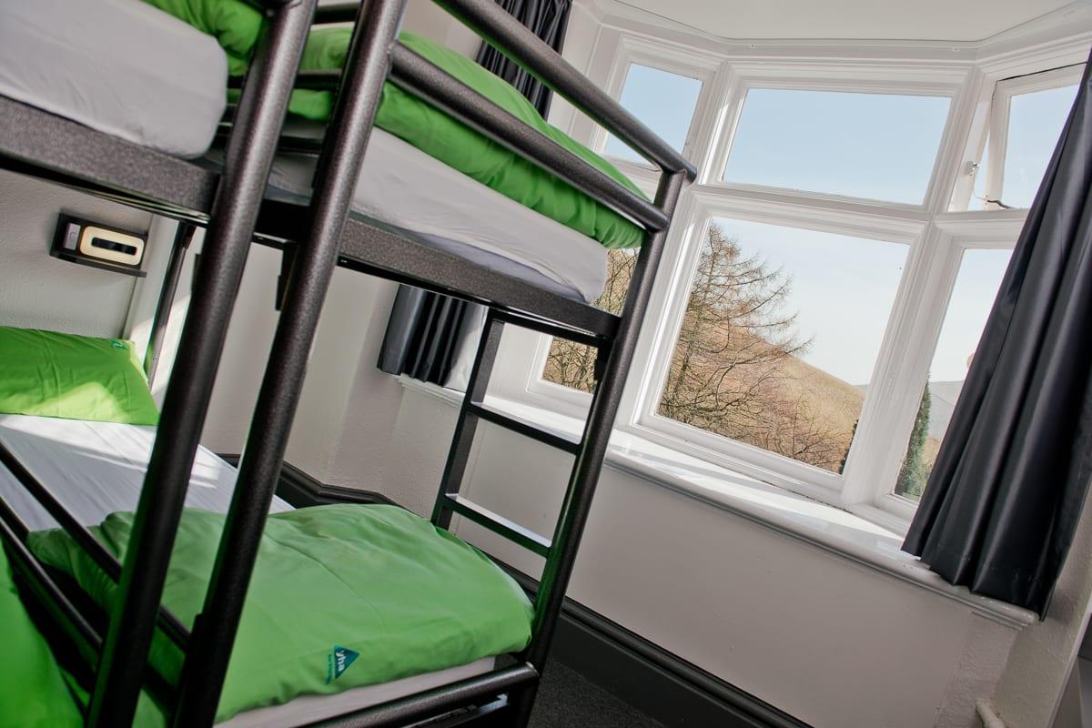 YHA Edale dorm room