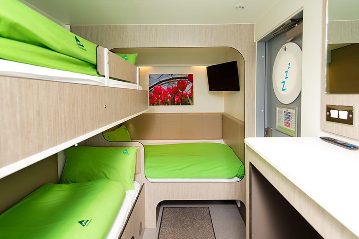 Snoozebox at YHA Eden Project