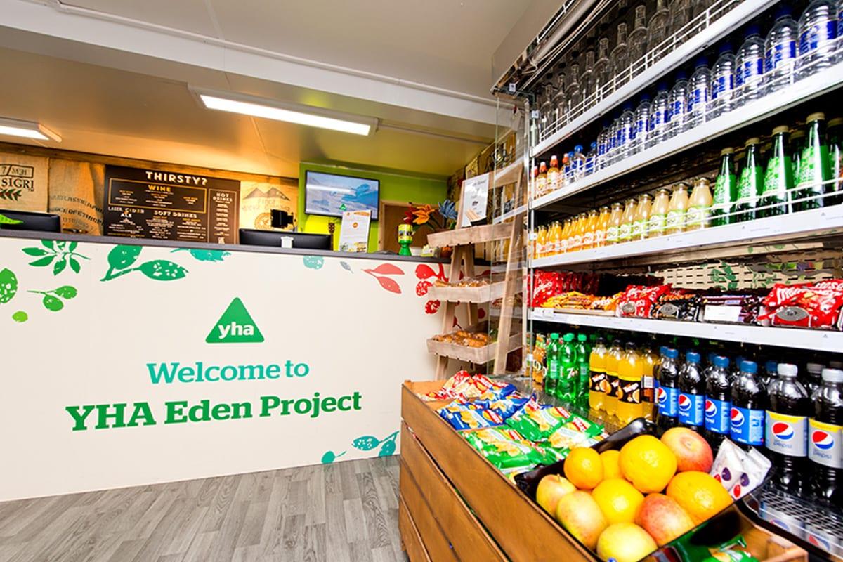 YHA Eden Project Reception