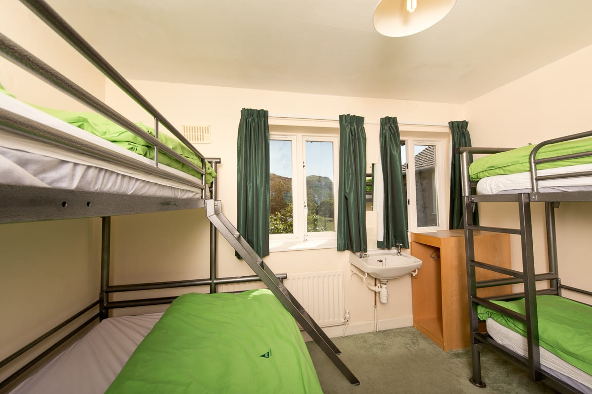 YHA Eskdale Bedroom