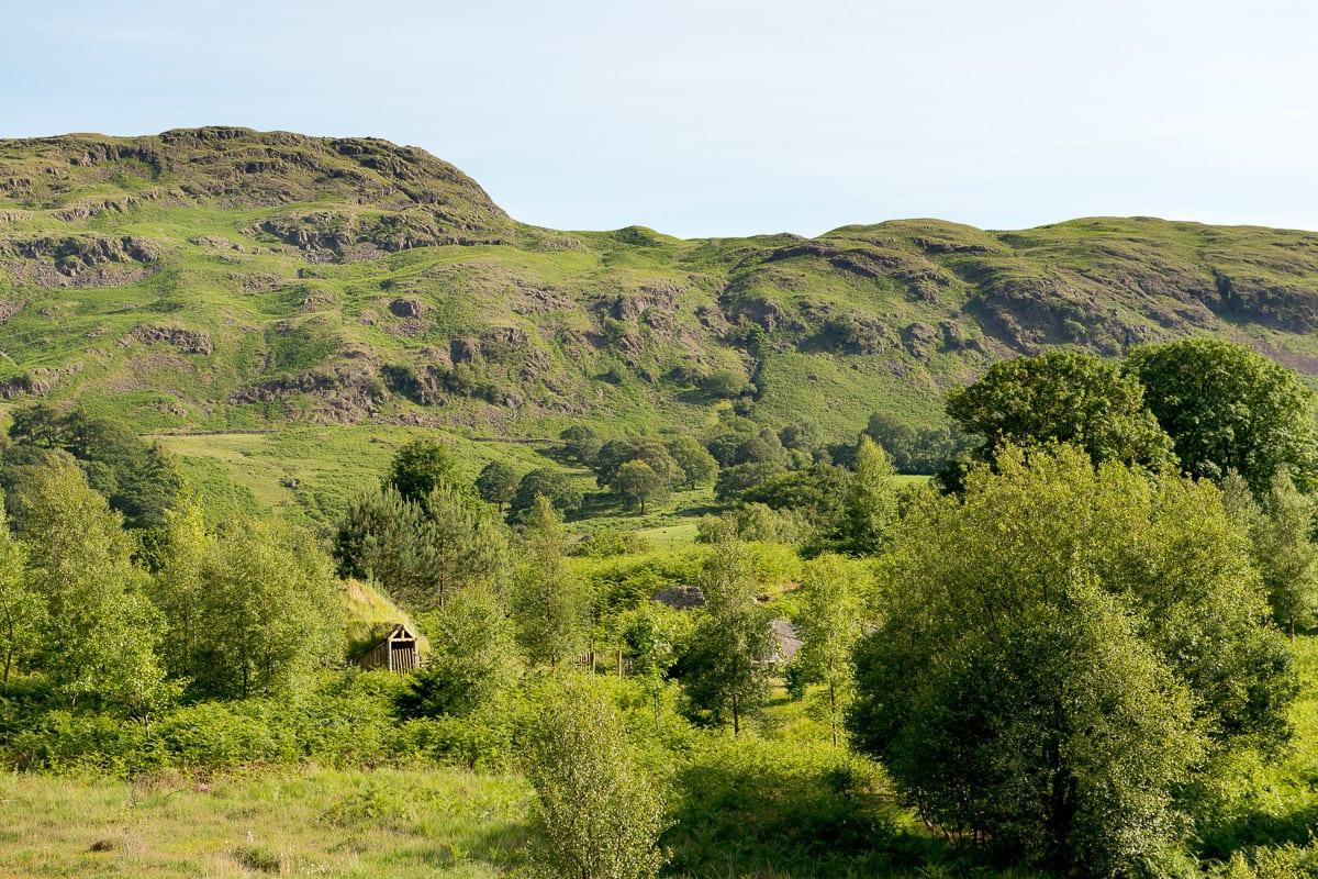 YHA Eskdale Landscape