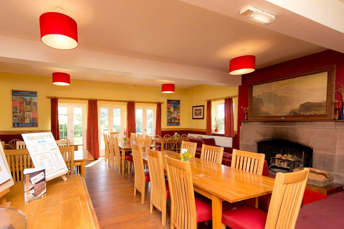 YHA Eskdale Dining Room